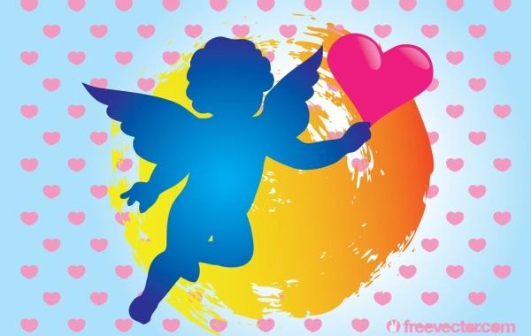 Free Cupid Vector