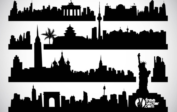 Free Cityscapes Vector