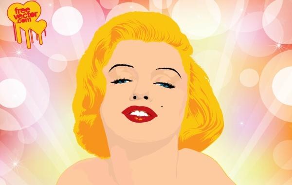 Free Marilyn Monroe Vector