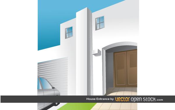 Free House Entrance
