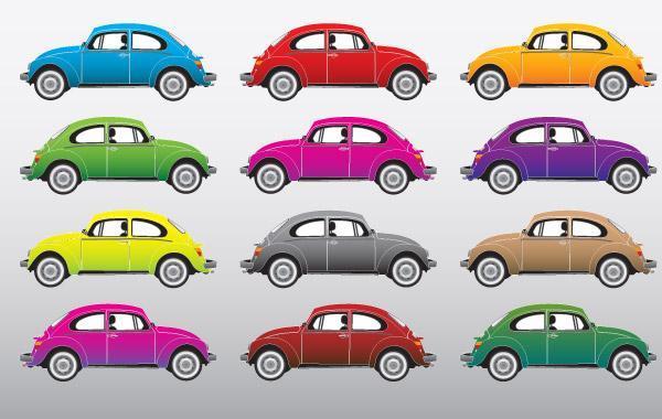Free Volkswagen Beetle Vectors