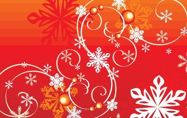 Free Winter Snowflake Vector