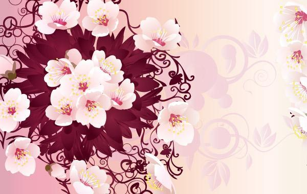 Free Free Rain Flowers Vector Graphic