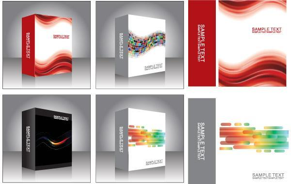 Free Free Vector Software Product Packing Templates