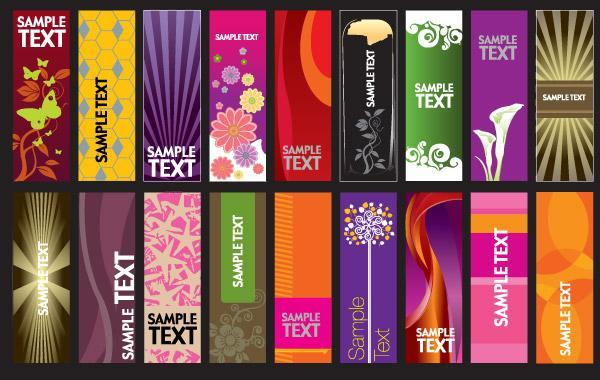Free 30 vector vertical banner templates
