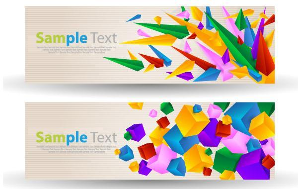 Free Abstract Colorful Banner