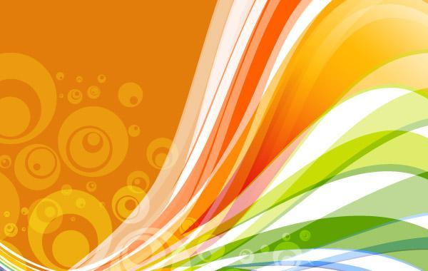 Free Vector Abstract Wave Background