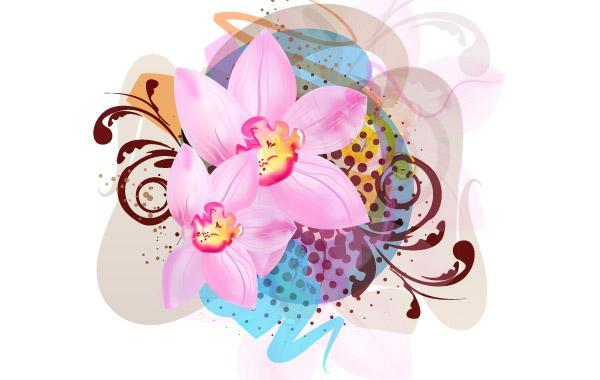 Free Flower Vector Illustration