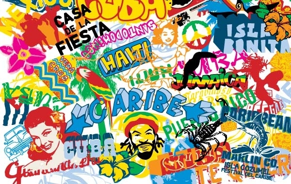 Free Pop Culture Movement and The Street Element Vector Graphic