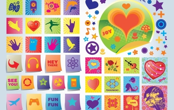 Free Fun Love Vector Icons
