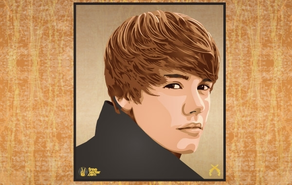 Free Justin Bieber Wanted Poster