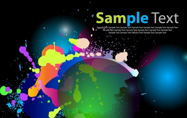 Free Color Abstract Background Art