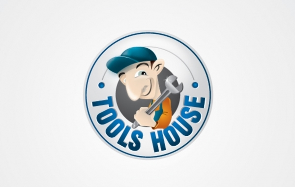 Free Vectors: Tools House | Logo Open Stock