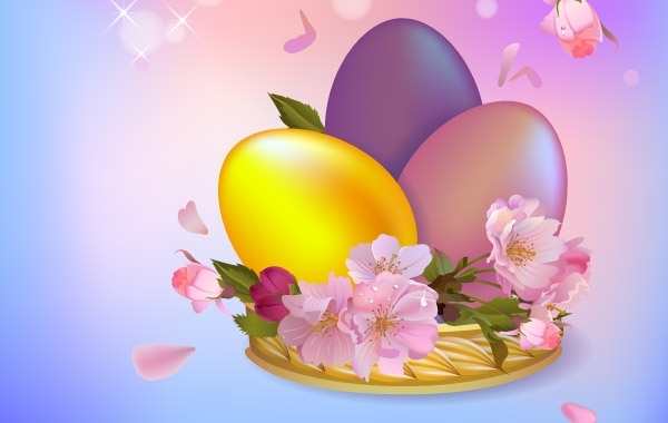 Free Easter Background 1
