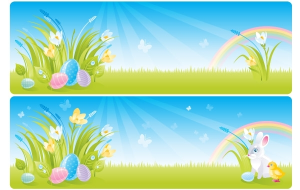 Free Spring Easter Vectors
