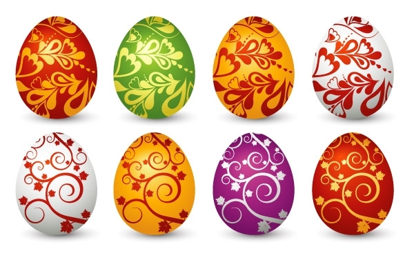 Free Easter Clip art Eggs