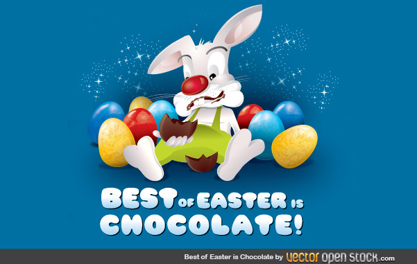 Free Best of Easter is Chocolate