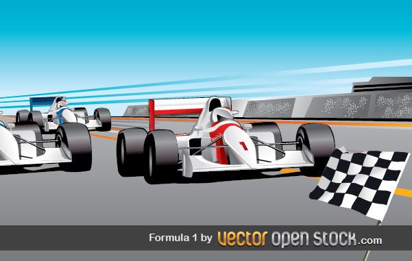Free Vectors: Formula 1  | Vector Open Stock