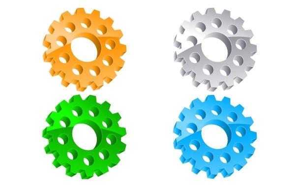 Free Vectors: Gear Vector  | webdesignhot