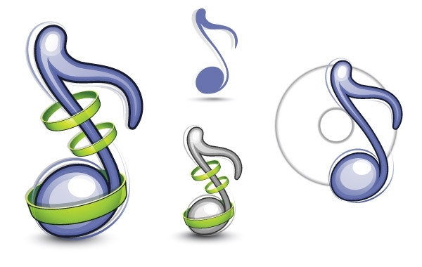 Free Musical Note Vector Illustration