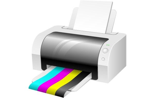 Free Vector Printer