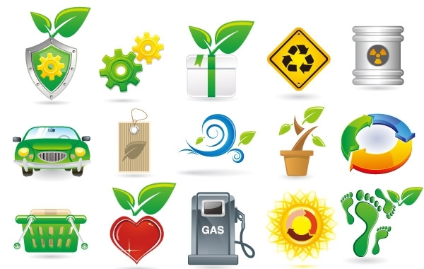 Free Green Theme Vector Icons
