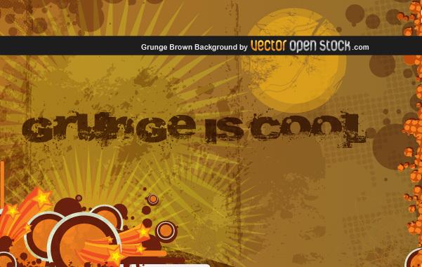 Free Grunge Brown Background