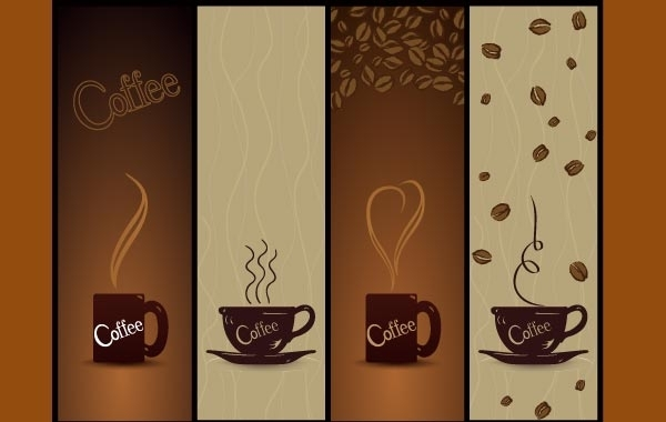 Free Vector Coffee Banners