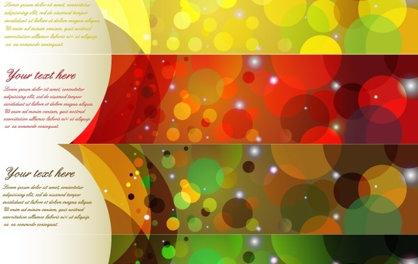 Free Colorful Abstract Banner