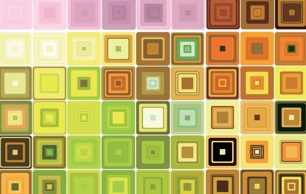 Free Geometric Mosaic Vector