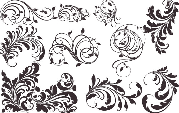 free vector patterns vintage