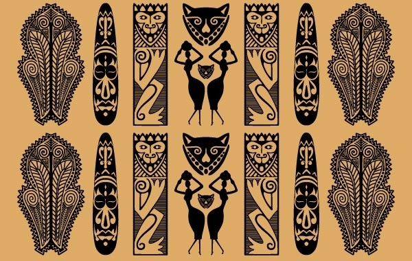 Free Traditional African Pattern