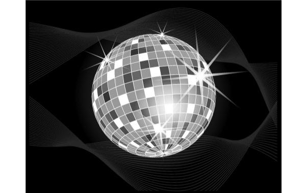 Free Disco Ball Vector