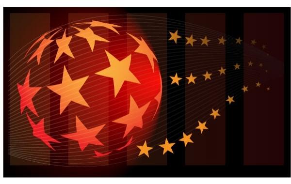 Free Star Ball Abstract Vector