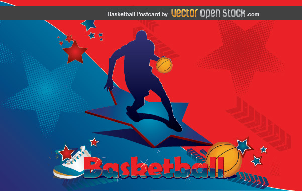Free Basketball Postcard