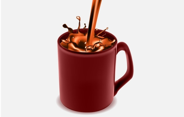 Free Coffee Mug with Chocolate Coffee