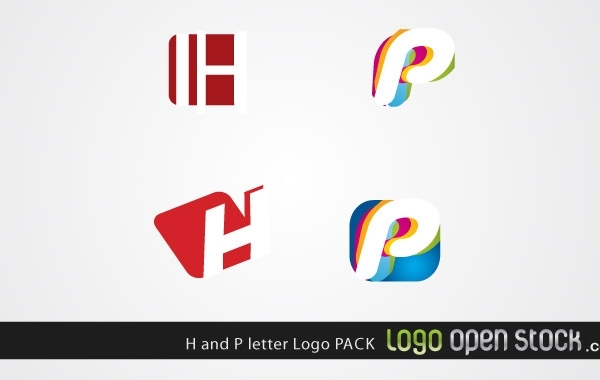 Free H and P letter Logo Pack