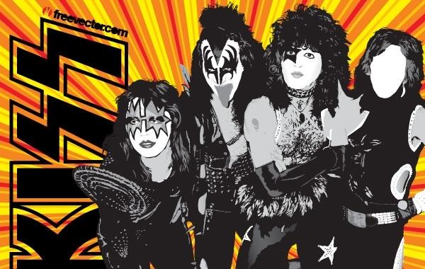 Free KISS Band