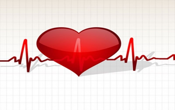 Free Heart with life line
