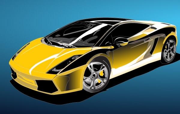 Free Racing Car Vector