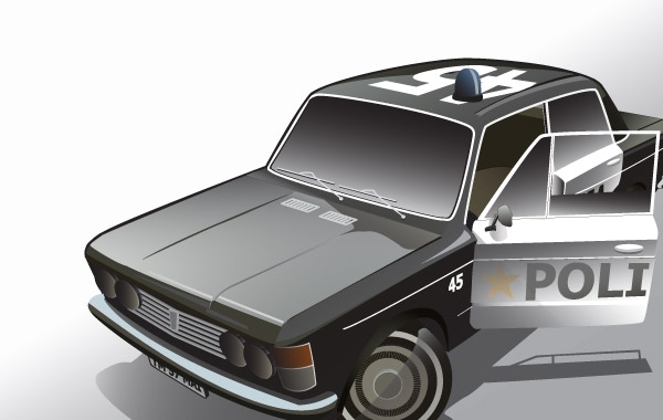 Free Fiat Police Car