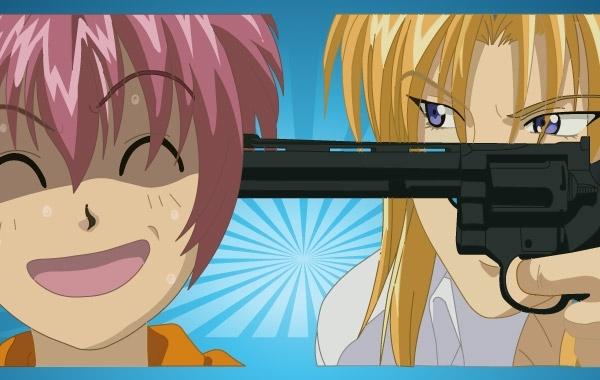 Free Anime Violence Vector