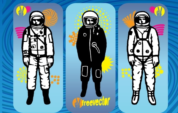 Free Vectors: Astronaut Vector Graphics | free-vectors