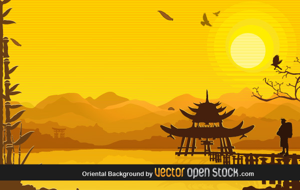 Free Oriental Background