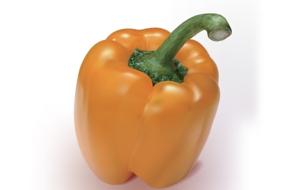 Free Orange Pepper