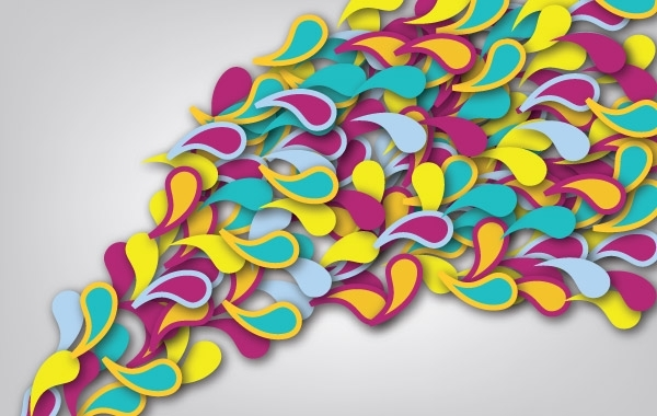 Free Colorful free vector art
