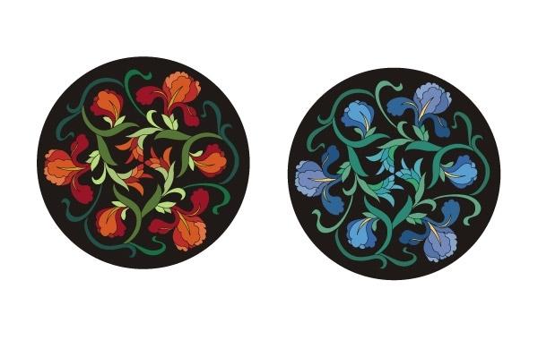 Free Chinese flower design