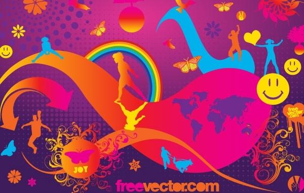 Free Joy Vector
