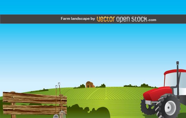 Free Farm Landscape