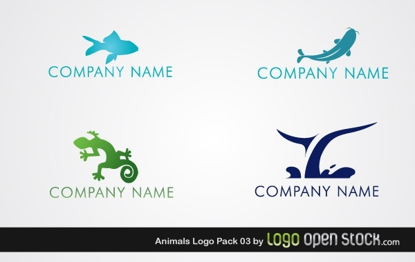 Free Vectors: Animal Logo Pack 03 | Logo Open Stock
